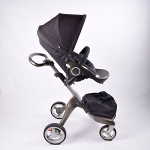 Stokke Xplory Stroller and peg perego infant car seat