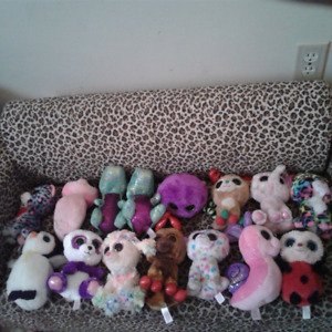 Crazy beanie boo collection