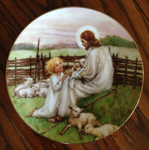 W.S. George 1st plate in the Beloved Hymns of Childhood series
