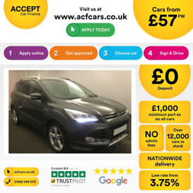 Ford Kuga Titanium X Sport FROM £57 PER WEEK!