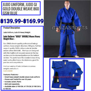Ju Jitsu Uniforms Sale Only @ BENZA SPORTS in store only $94.99