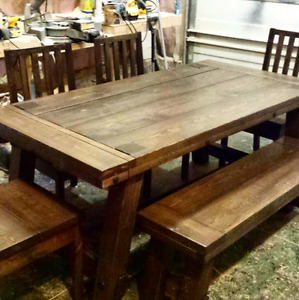 Industrial Style Dining Table Sets