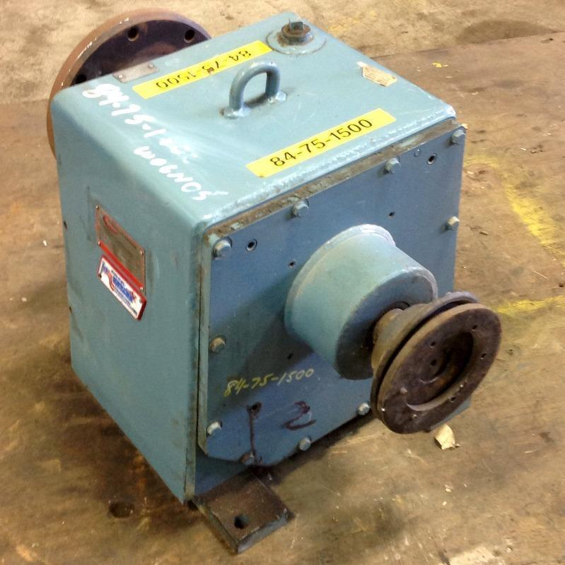 PHILADELPHIA GEAR CORP. 6.2:1 RATIO 82/52RPM 40HP GEAR REDUCER 6HL-2