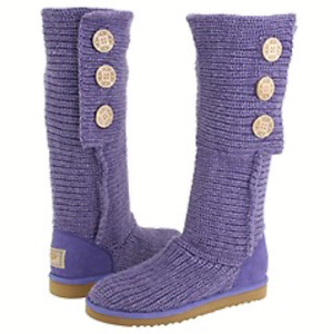 Ugg Classic Cardy Knit Boots Size 9