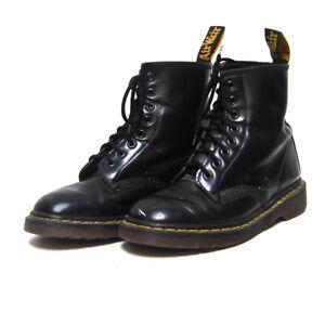 Dr Martens Black Combat Boots - 90's Vintage