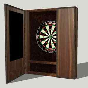 Dart Board Cabinets Cambridge Kitchener Area image 9