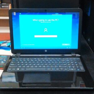 HP Laptop - 1.0GHz AMD E1-2100 - 2GB DDR3 - 320GB HD - WIN 10