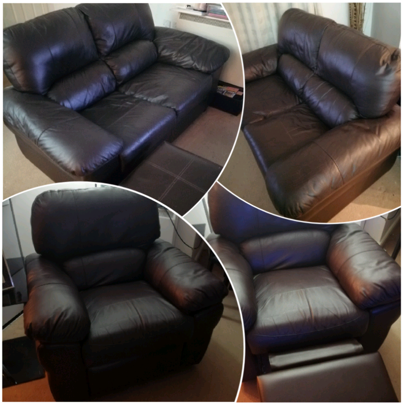 2 x 2 seater sofa & matching recliner chair | in Reddish, Manchester | Gumtree