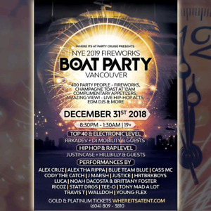 NEW YEARS EVE BOAT PARTY
