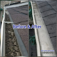 GUTTER CLEANING AND PRESSURE WASHING. ( 647-979-1711 )