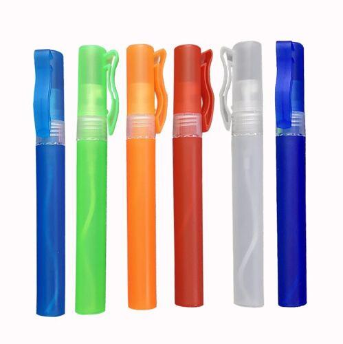 Travel Sanitizer Refillable Spray Bottle 6 Pack - 8mL