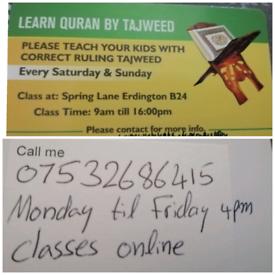 Teach Quran with Tajweed
