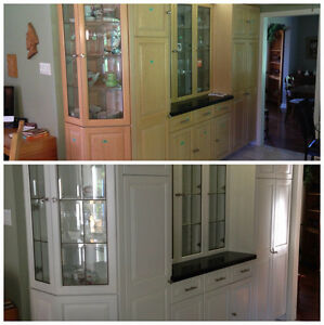 Respray your kitchen cabinets MSDT