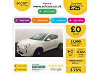 Alfa Romeo MiTo Sportiva FROM £25 PER WEEK!