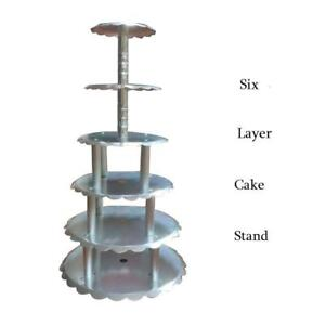 Beauty and Uaseful 6 Layer Wedding Cake Stand Set 201033