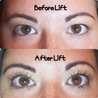 Eyelash Extensions and Lash Lifts including Tint