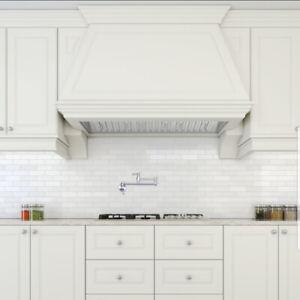 "600cfm-28"" Ancona PRO SERIES Insert Hood LED Light (30"" cabinet)"