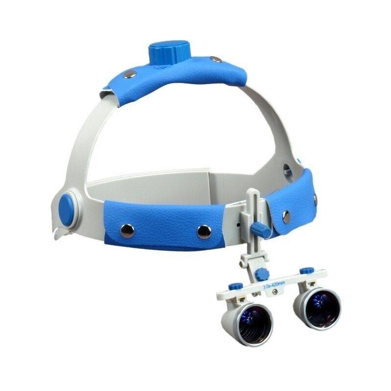 Headband Dental Surgical Binocular Loupes 3.0X/420mm