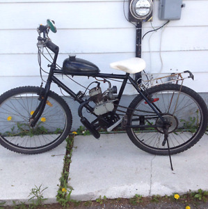 GAS POWERED BIKE WANTED!