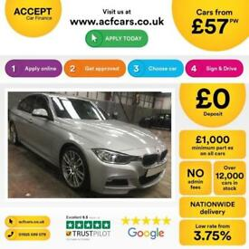 BMW 320d M Sport Auto Upgrade Alloys 2014 FROM £57 PER WEEK!