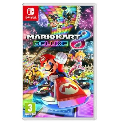 Mario Kart 8 Deluxe Nintendo Switch Video Game Brand New Sealed