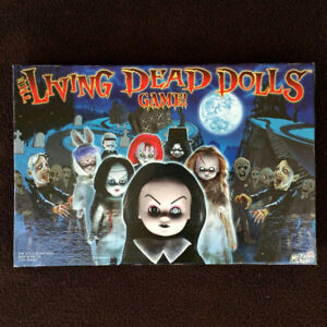 The Living Dead Dolls Board Game Complete Horror Goth Zombies Me
