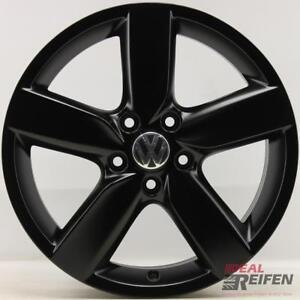 4-ORIGINALE-VW-GOLF-1K-5K-ORLANDO-5k0601025aa-CERCHI-IN-LEGA-7x17-ET54-cerchioni