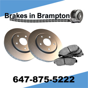 Toyota Sienna 2004 – 10 Front Brake Pads and Coated Rotors Kit