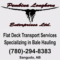 Custom Hay Bale Hauling and Flat Deck Transport Services