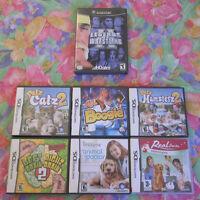 6 jeux de DS et 1 jeux de Gamecube pour vraiment pas cher !