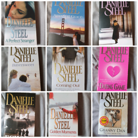 Danielle Steel 34 books for £10 or £1 each