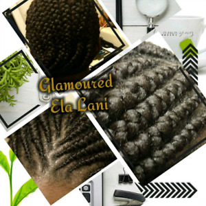 Braids, locs, Faux Locs, Rope Twist, Cornrows,  Weave Call Now
