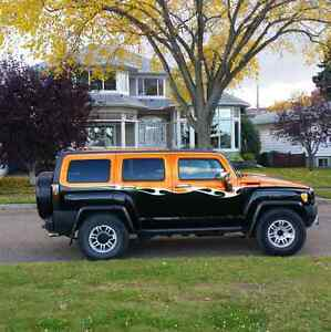 2008 Hummer H3 Alpha V8  5.3 l , with the Polish heads