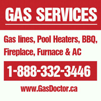 Gas lines, Gas services, repairs and installation