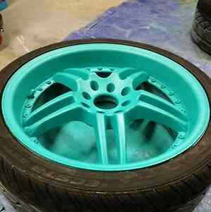 Professional Plastidipping for Rims  Cambridge Kitchener Area image 6