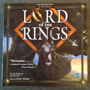 LORD OF THE RINGS Boardgame - New