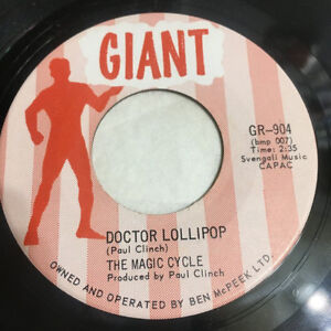 "The Magic Cycle - Doctor Lollipop (7"" Single) Scarce"