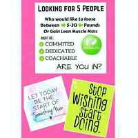 WHO WOULD LIKE TO LOSE 5-30 LBS