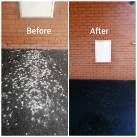 Pvc and gutter cleaning, powerwashing, gardening and more