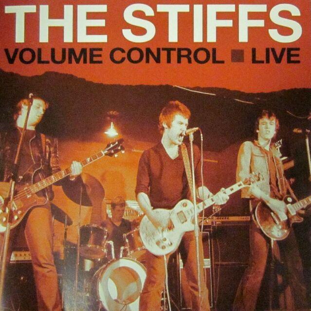 The Stiffs(CD Album)Volume Control Live-Receiver-RRCD289-UK-New & Sealed