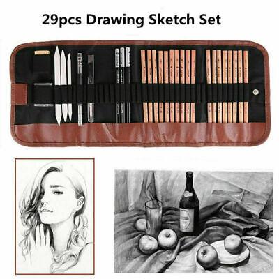 Art Pencil Set (Art Supplies Graphite Drawing Pencils Sketch Set 29pcs Full Artist Kits Art)