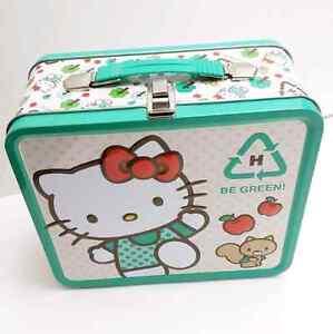 Hello Kitty Collectible Metal Lunch Box Sanrio Kitchener / Waterloo Kitchener Area image 2