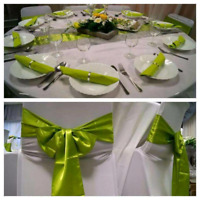 Satin sashes available for rent