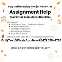 Best Quality Assignment and Essay Writing Help Service