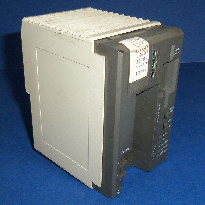 AEG MODICON TSX COMPACT CPU 8K MEMORY W/ MB PROCESSOR MODULE PC-A984-145 *PZF*