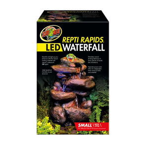 BRAND NEW IN BOX ZOOMED LED REPTI RAPIDS WATERFALL