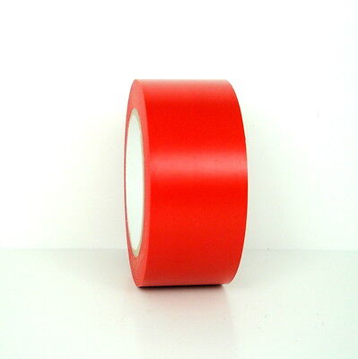 1 Roll Vinyl Tape - Red - 2 48mm X 108 Ft