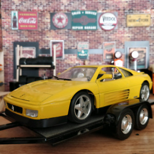 1:18 Scale 1989 Ferrari 348 TB Collectible Diecast Car Made in I