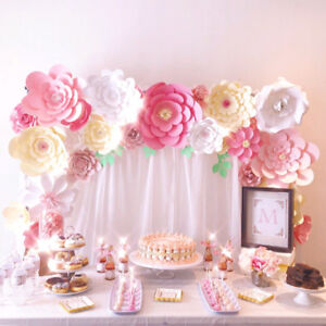 Paper Flower Backdrop Wall - Dessert Table/Photobooth