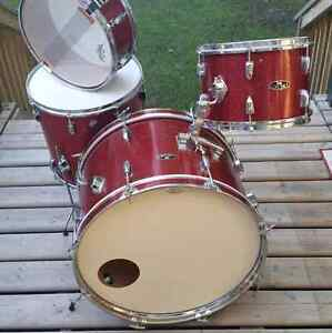 Vintage Coronet drums. Great shape and amazing tone